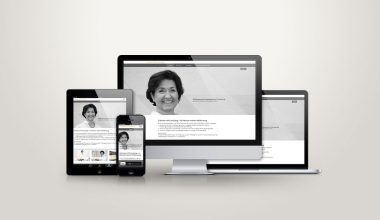HR-Consulting – personalisierte Website